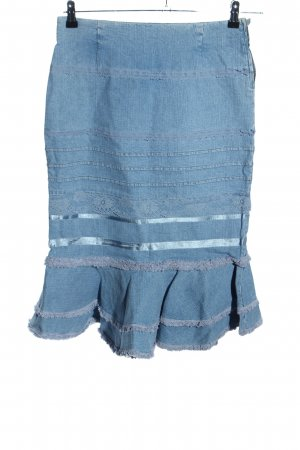 ae elegance Denim Skirt blue casual look