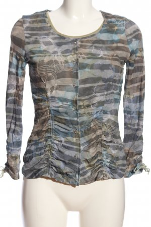 ae elegance Twin Set tipo suéter light grey-brown allover print casual look