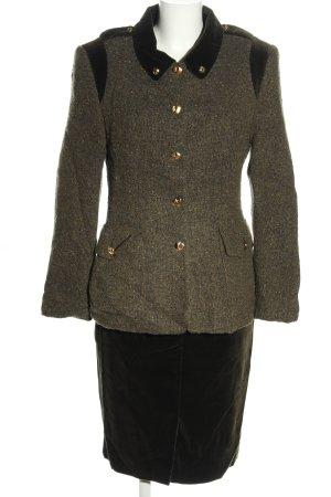 ae elegance Ladies' Suit brown flecked business style