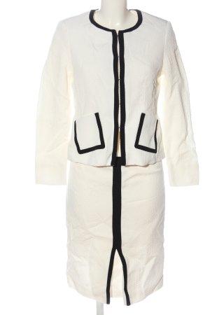 ae elegance Ladies' Suit natural white-black casual look