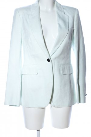 ae elegance Korte blazer turkoois zakelijke stijl