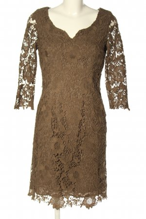 ae elegance Lace Dress brown casual look