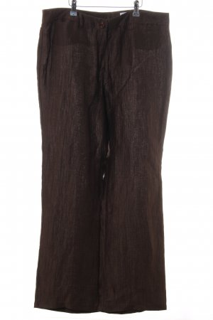 ae elegance Linen Pants brown casual look