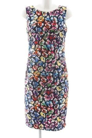 ae elegance Midi-jurk volledige print zakelijke stijl