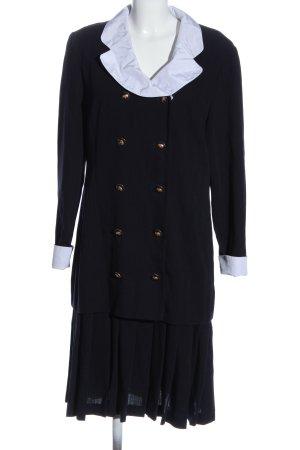 ae elegance Geklede jurk blauw zakelijke stijl