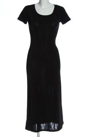 ae elegance Vestido a media pierna negro look casual