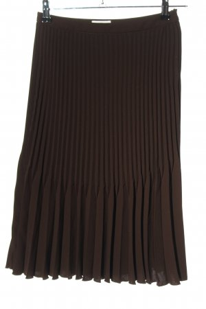 ae elegance Pleated Skirt brown elegant
