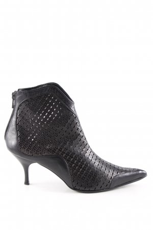 ae elegance Slip-on Booties black elegant