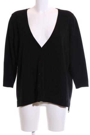 ae elegance Gebreide cardigan zwart casual uitstraling