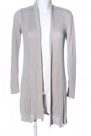 ae elegance Knitted Cardigan light grey casual look