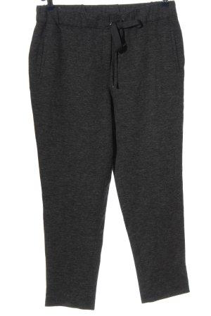 ae elegance Pantalon de jogging gris clair moucheté style décontracté