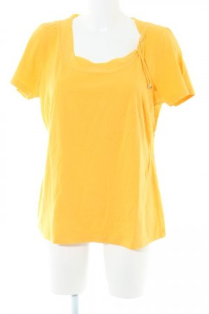 ae elegance T-Shirt yellow casual look