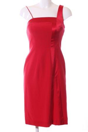 ae elegance Robe à bretelles rouge élégant