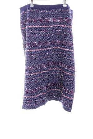 ae elegance Tweed Skirt blue-pink flecked casual look