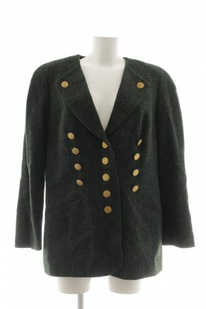 ae elegance Wool Blazer forest green-gold-colored classic style