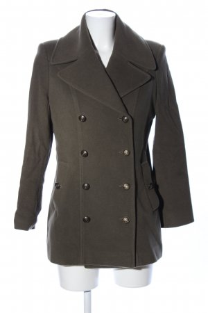 ae elegance Wool Jacket khaki business style