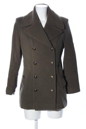 ae elegance Wolljacke khaki Business-Look