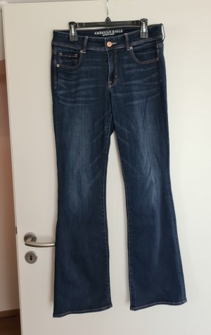 American Eagle Outfitters Boot Cut Jeans dark blue