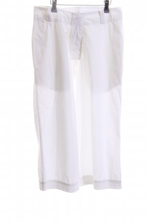 Aem Kei NYC Pantalón pirata blanco estilo «business»