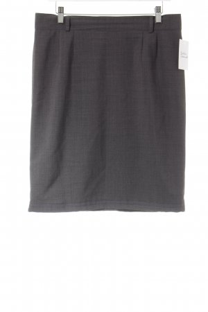 Änny N Midi Skirt dark grey business style