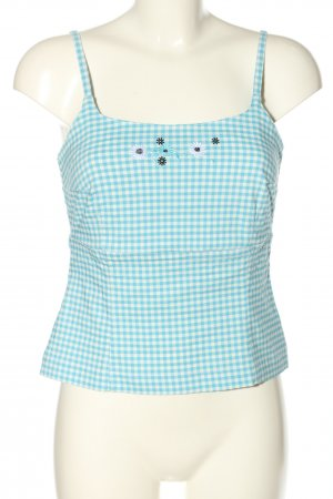 Änny N Strappy Top turquoise-white allover print casual look