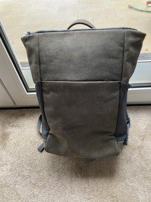 Zaino laptop grigio scuro-antracite