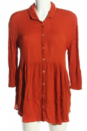 Aerie Long Blouse light orange casual look