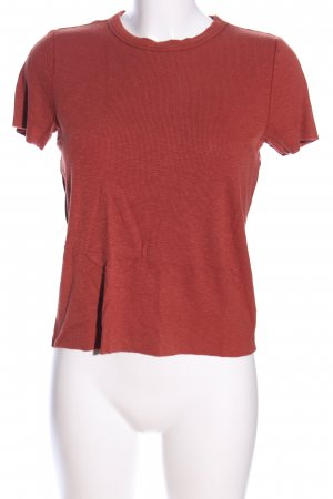 Aerie Rippshirt rot Casual-Look