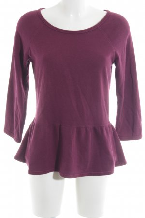 Aerie Kraagloze sweater violet casual uitstraling