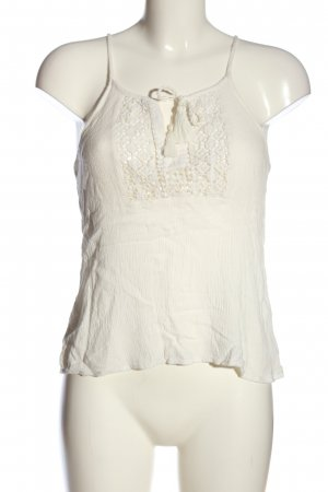 Aerie Top de tirantes finos blanco look casual