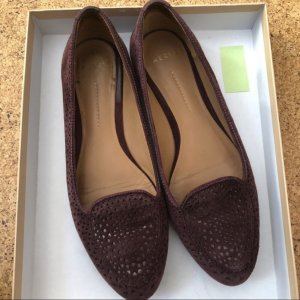 AERIN Ballerinas with Toecap bordeaux