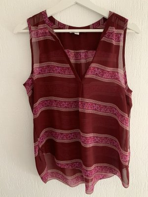 American Eagle Outfitters Sleeveless Blouse raspberry-red-bordeaux