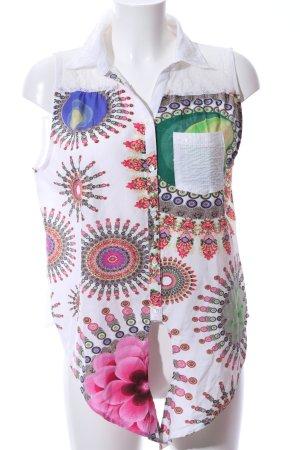 Desigual ärmellose Bluse Blumenmuster Casual-Look
