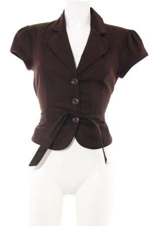 BCX Bluzka bez rękawów brązowy W stylu casual