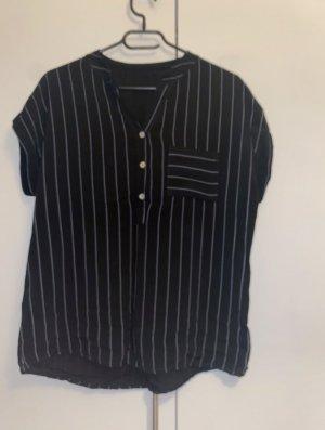 Butik Camicia blusa nero-bianco