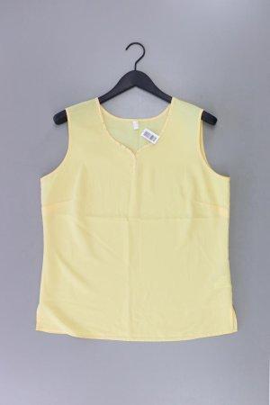 Ärmellose Bluse Größe 42 gelb