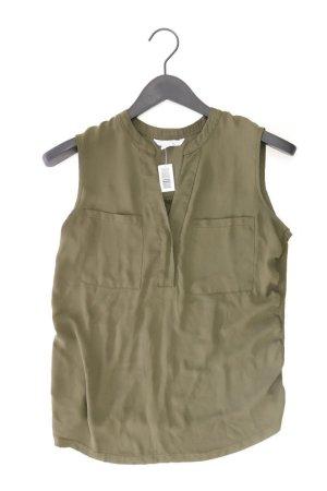 Ärmellose Bluse Größe S olivgrün