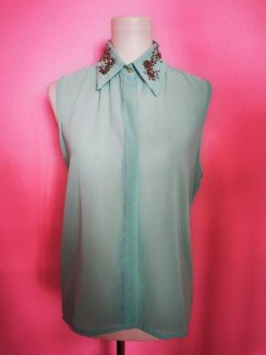 Ärmellose Bluse (K5)