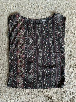 Ärmellose Bluse mit Aztekenmuster von Warehouse in XS