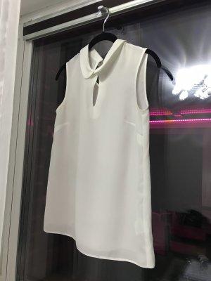 Coercion Sleeveless Blouse natural white