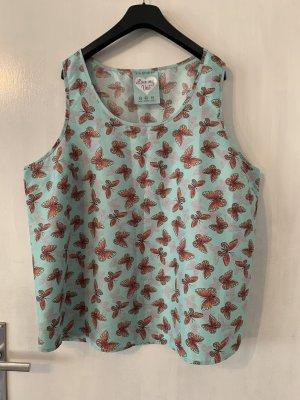 Ärmellose Bluse mit Schmetterlingen von Primark in Größe 46