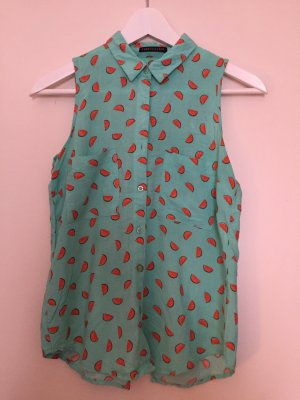 Ärmellose Bluse mit Wassermelonen