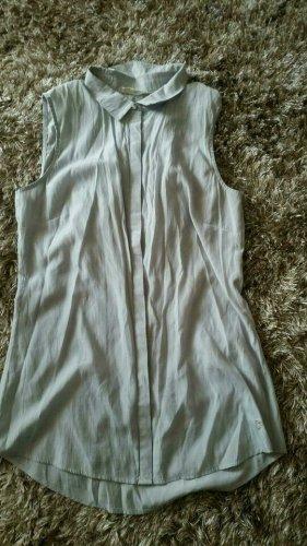 Basefield Blusa senza maniche argento-grigio chiaro