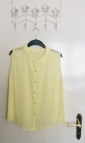 Ärmellose Bluse von Zara Basic