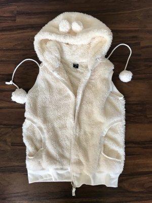 Haily's Hooded Vest cream