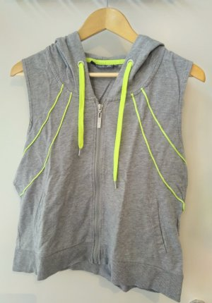 only play Sports Vests light grey-neon yellow cotton