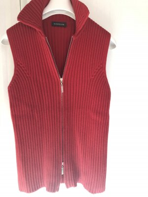 Repeat Knitted Vest red