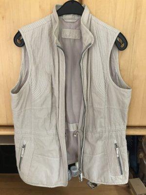Bonita Sports Vests natural white cotton
