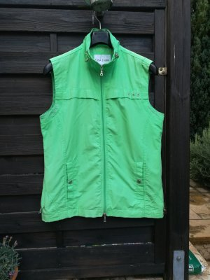 Gina Laura Sports Vests grass green