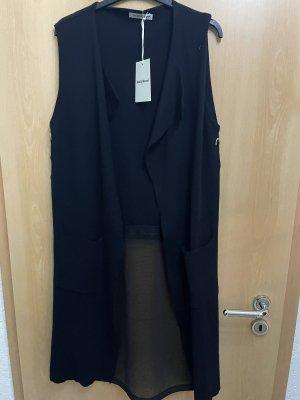 Beauty Women Short Sleeve Knitted Jacket black